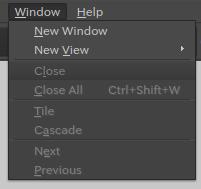 キャプチャ:Windowメニュー