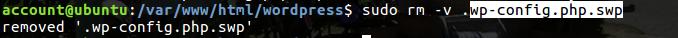 Fig9.rmコマンドで隠しファイルを削除する