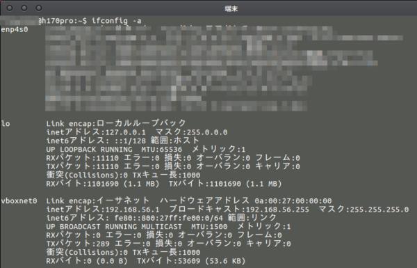 Fig11.ホストOSに追加されたvboxnet0