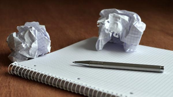 サムネイル:書き捨てられた紙くず