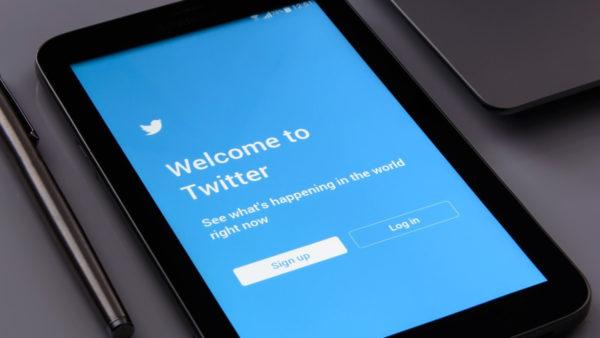 サムネイル:Twitterの画面