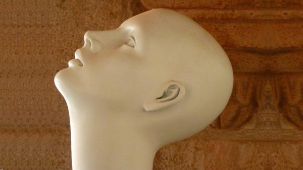 アイキャッチ:マネキンの頭部
